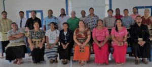 Participants who took part in the RAC technician workshop, Vava'u.