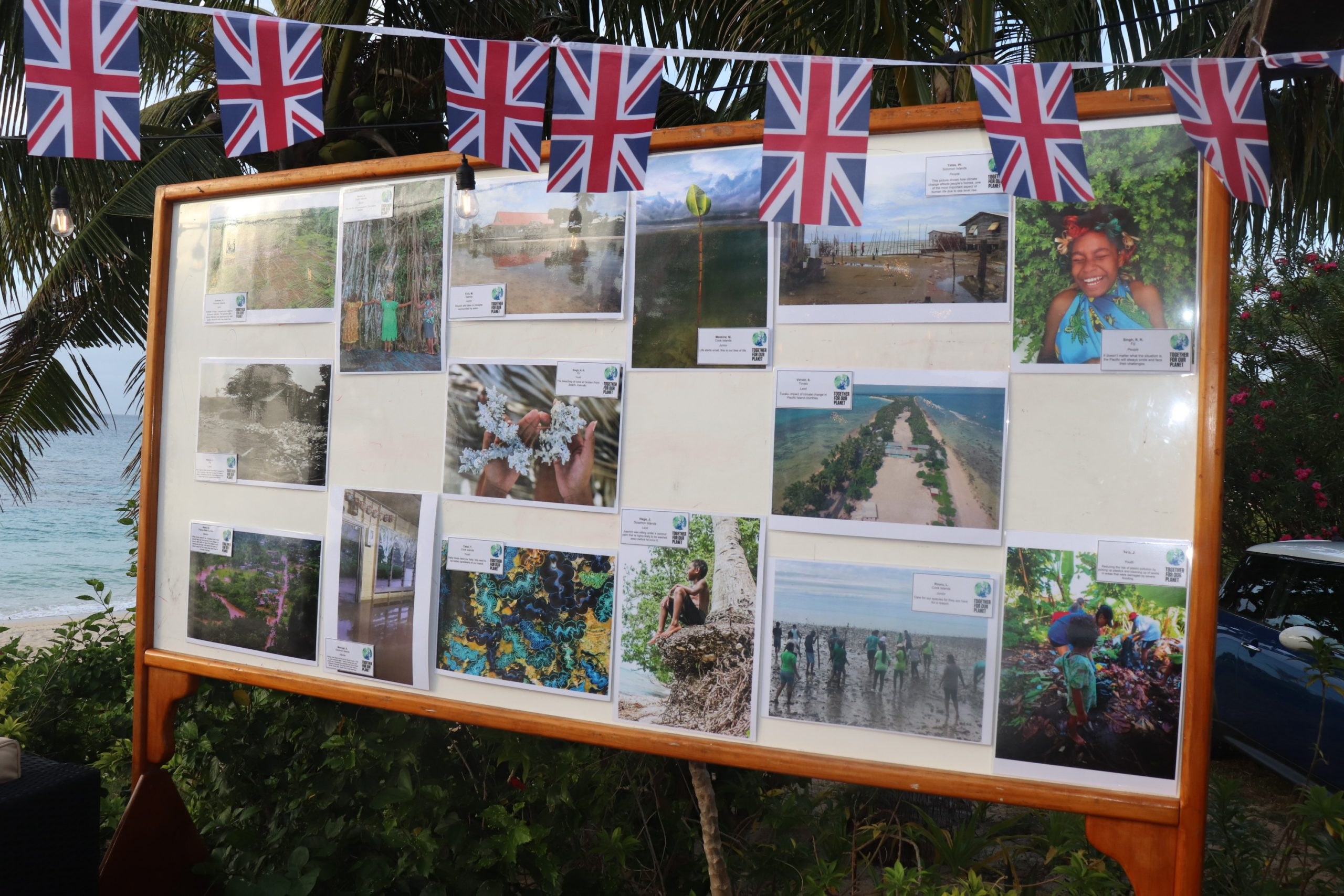 UK Photography Exhibition and Reception at Sandy Beach